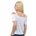 Women s Cutout Shoulder Tee