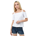Cutout Shoulder Tee