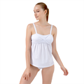 Twist Front Tankini Set