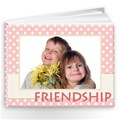 Make Your Own Friends Photo Book Album 9x7 - 20 pages