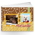 Make Your Own Pet Dog or Cat Photo Book Album 9x7 - 39 pages