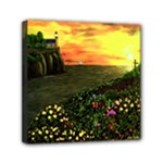 Eddie s Sunset by Ave Hurley -  Mini Canvas 6  x 6  (Stretched)