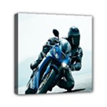 Vehicles Motorcycle Racer Mini Canvas 6  x 6  (Stretched)