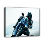 Vehicles Motorcycle Racer Canvas 10  x 8  (Stretched)