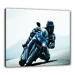 Vehicles Motorcycle Racer Canvas 24  x 20  (Stretched)