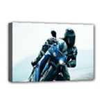 Vehicles Motorcycle Racer Deluxe Canvas 18  x 12  (Stretched)