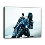 Vehicles Motorcycle Racer Deluxe Canvas 20  x 16  (Stretched)