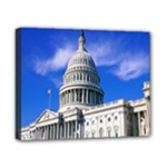 Usa White House Canvas 10  x 8  (Stretched)