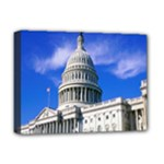 Usa White House Deluxe Canvas 16  x 12  (Stretched)