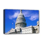 Usa White House Deluxe Canvas 18  x 12  (Stretched)
