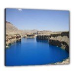 Water And Desert Band Eamir Afghanistan Canvas 24  x 20  (Stretched)