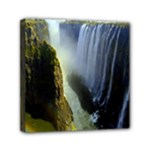 Victoria Falls Zambia Mini Canvas 6  x 6  (Stretched)