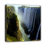 Victoria Falls Zambia Mini Canvas 8  x 8  (Stretched)