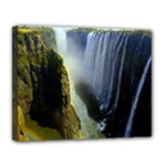 Victoria Falls Zambia Canvas 14  x 11  (Stretched)