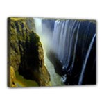 Victoria Falls Zambia Canvas 16  x 12  (Stretched)