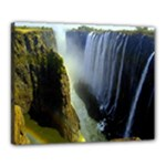 Victoria Falls Zambia Canvas 20  x 16  (Stretched)