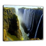 Victoria Falls Zambia Canvas 24  x 20  (Stretched)