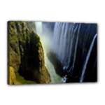 Victoria Falls Zambia Canvas 18  x 12  (Stretched)
