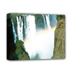 Zambia Waterfall Deluxe Canvas 14  x 11  (Stretched)