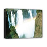 Zambia Waterfall Deluxe Canvas 16  x 12  (Stretched)
