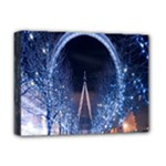 London Eye And  Ferris Wheel Christmas Deluxe Canvas 16  x 12  (Stretched)