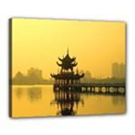Lotus Lake Kaoshiung Taiwan Canvas 20  x 16  (Stretched)