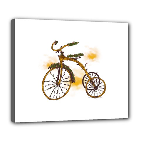 Tree Cycle Deluxe Canvas 24  X 20  (framed) by Contest1753604