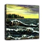 Cosgriff Point Lighthouse -AveHurley ArtRevu.com- Mini Canvas 8  x 8  (Stretched)