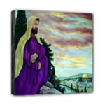 Jesus, A Man Of Sorrows   Ave Hurley   Mini Canvas 8  x 8  (Stretched)
