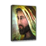 Jesus - Eyes of Compassion - Ave Hurley - Mini Canvas 7  x 5  (Stretched)