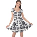 Haeckel Chiroptera Cap Sleeve Dress