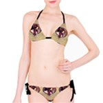Donna Orechini By Alphonse Mucha Bikini Set