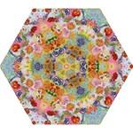 I Love You  by M. Nicole van Dam, Mini Folding Umbrella
