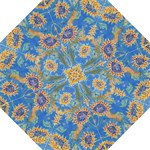 Dance of the Sunflowers  by M. Nicole van Dam, Hook Handle Umbrella (Large)