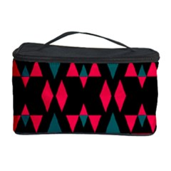 Rhombus And Other Shapes Pattern Cosmetic Storage Case by LalyLauraFLM