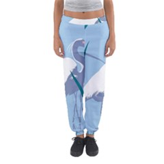 Egret Women s Jogger Sweatpants by WaltCurleeArt