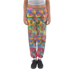 Colorful Autumn Women s Jogger Sweatpants
