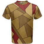 Urban Jungle Tower Brown Red Men s Cotton Tee