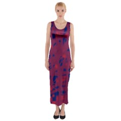 Decor Fitted Maxi Dress