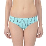Spoonie Strong Print in Light Turquiose Hipster Bikini Bottoms