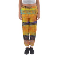 London Tower Abstract Bridge Women s Jogger Sweatpants by Amaryn4rt