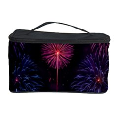 Happy New Year New Years Eve Fireworks In Australia Cosmetic Storage Case by Onesevenart
