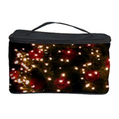 Christmas Tree Cosmetic Storage Case by Nexatart