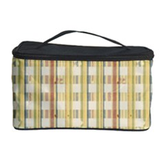 Tomboy Line Yellow Red Cosmetic Storage Case by Alisyart