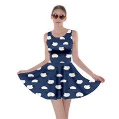 Navy Wolfs Dressed In Sheeps Skater Dress by CoolDesigns