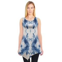Jean Like Tie Dye Tunic Top by CoolDesigns