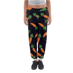 Carrot Pattern Women s Jogger Sweatpants by Valentinaart