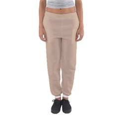 Trendy Basics   Trend Color Hazelnut Women s Jogger Sweatpants by tarastyle