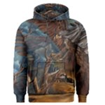 Collection: Art Air Elements<br>Print Design:  A Cry in the Canyon <br>Style: Men s Pullover Hoodie
