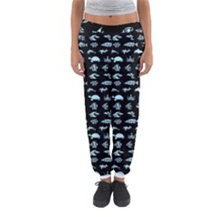 Fish Pattern Women s Jogger Sweatpants by ValentinaDesign